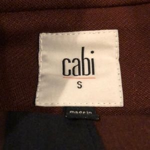 CAbi Jackets & Coats - CAbi Boss Deep Burgundy Jacket